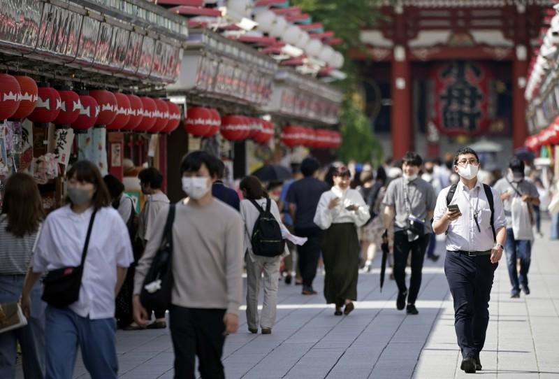 日本東京今天再新增54例確診。(歐新社)