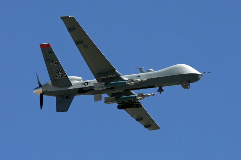 空軍日前完成對美採購「死神」無人機系統建案程序。(法新社)