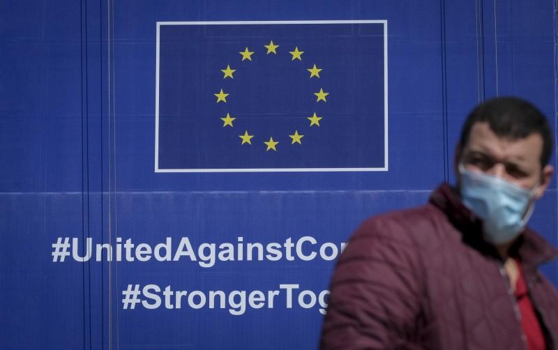 歐盟內部對於開放邊境的國家名單未達共識,但輪值主席國克羅埃西亞希望在29日進行表決。(歐新社)