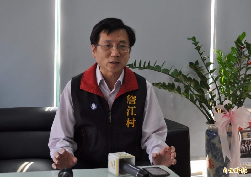 國民黨桃園市議員詹江村(見圖)在臉書宣布,與韓粉正式為敵。(資料照)