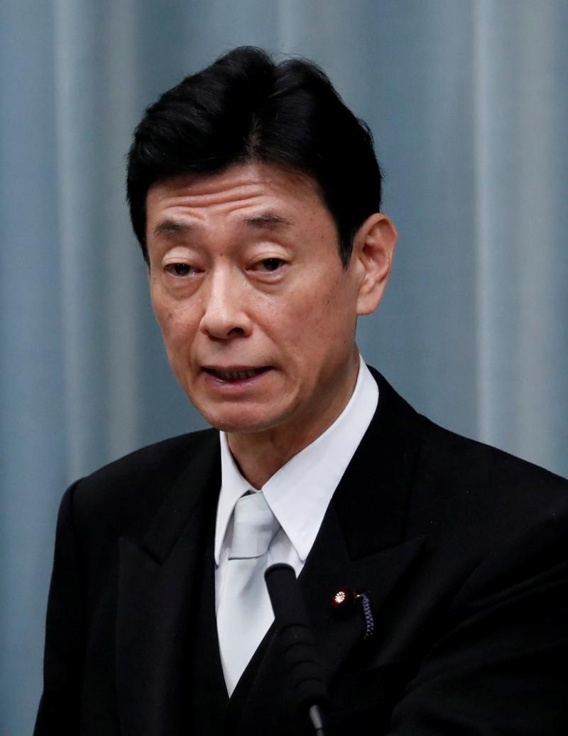 日本疫情再拉警報,不過經濟再生部擔當大臣西村康稔判斷認為此刻尚無須憂慮是否再指定緊急事態宣言。(路透)