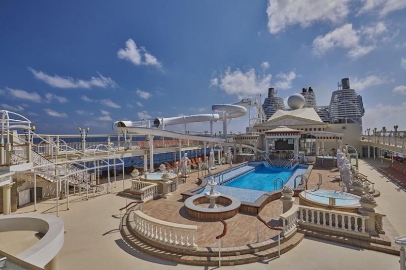 「探索夢號」將成為第一艘全球復航的國際郵輪。 (業者提供)
