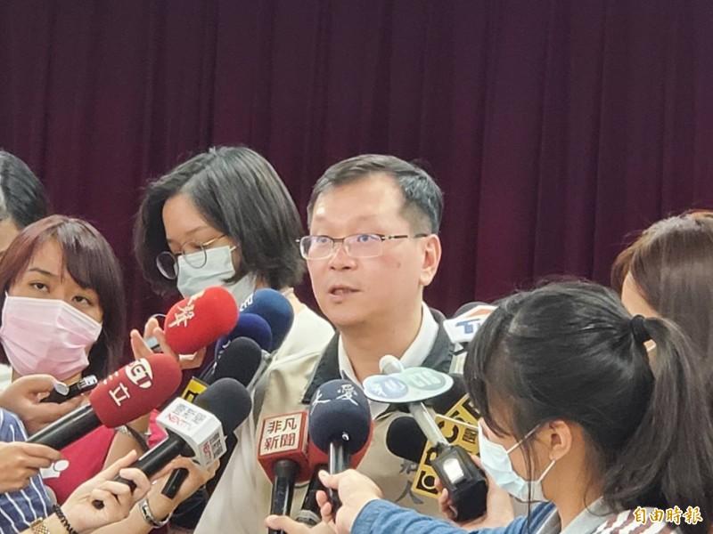 指揮中心發言人莊人祥說明,日本女學生個案在台生活單純,接觸者少。(資料照)