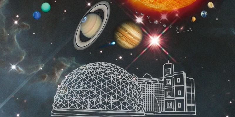 民眾只要暑假期間至「北北基好玩卡官網」或「KLOOK官網」,可網上購買20元「銅板優惠價」參觀天文館展示場。(天文館提供)
