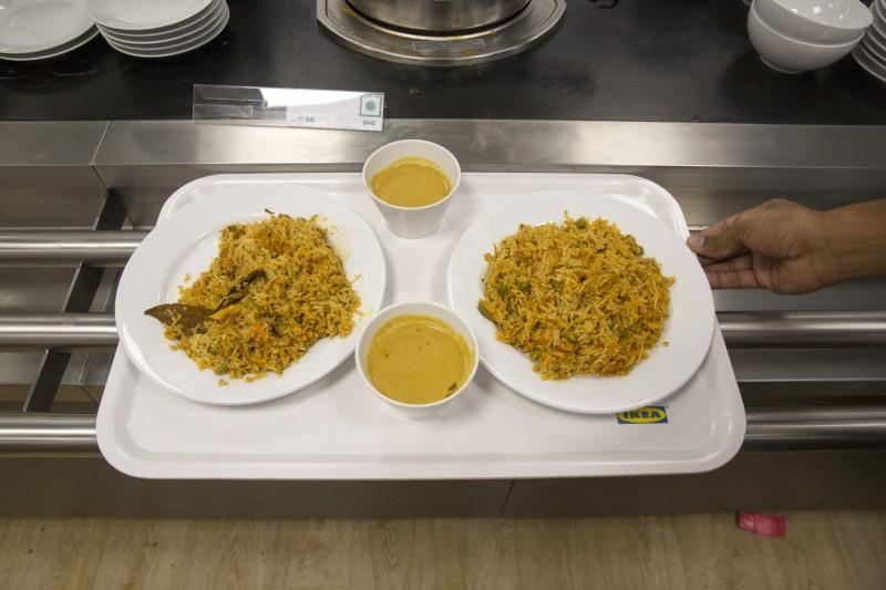 印度香飯屬於中東和南亞菜,多元的香料調味是其美味關鍵。但沒想到日前印度一名人妻因為沒吃到想吃的香飯竟引火自焚。(示意圖)(彭博)