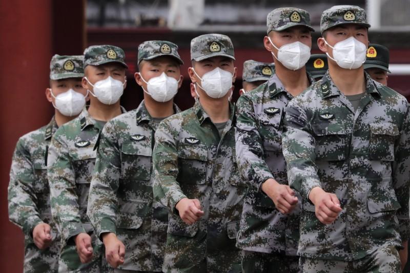 中國生物醫療公司宣布,已研發出新型冠狀病毒疫苗,現階段僅限解放軍內部使用。(歐新社)