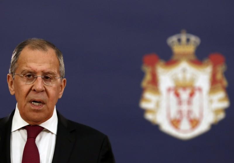俄羅斯外交部長拉夫羅夫(見圖)表示,外交部門約有40名工作人員染疫,其中1人死亡。(美聯社)