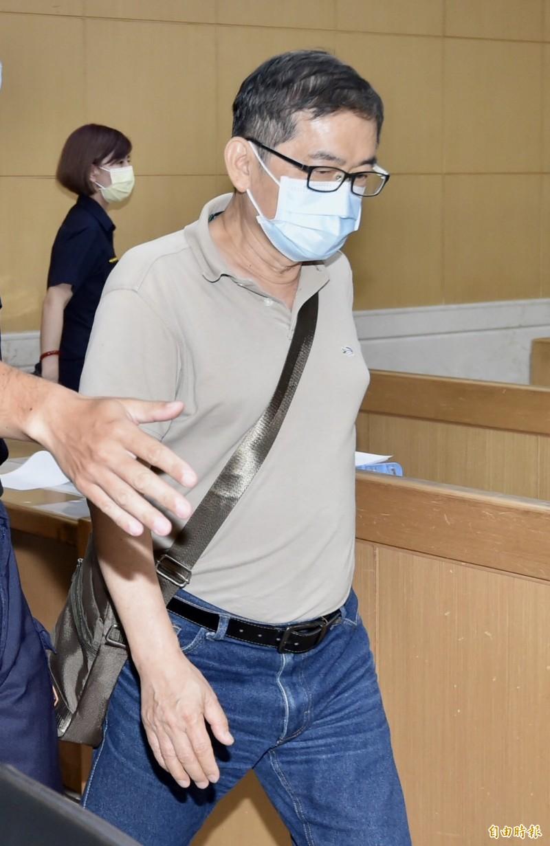 檢調偵辦潤寅超貸案,意外發現調查局台北市調站已退休的專員郭詩晃(見圖)涉嫌收賄包庇罪行。(記者塗建榮攝)