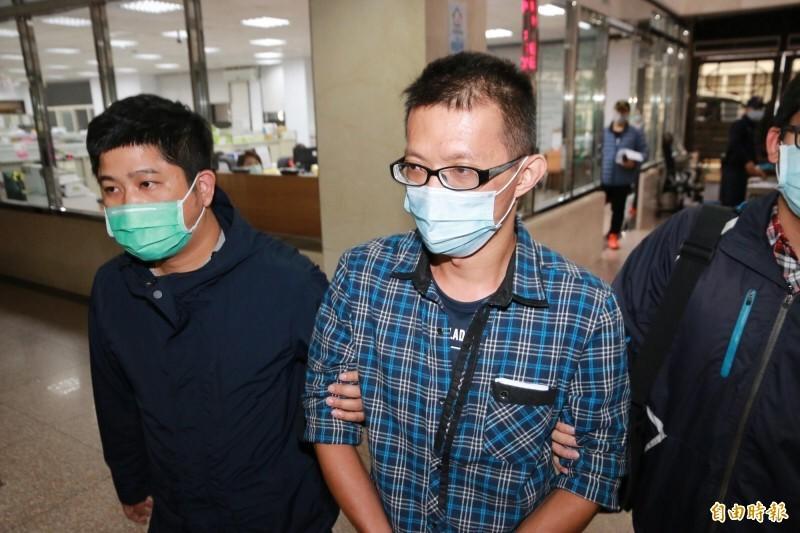 陳男落網後遭羈押禁見。(資料照)