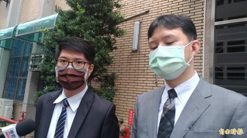 台中地檢署陳隆翔(左)批評彈劾有政治目的。(資料照)