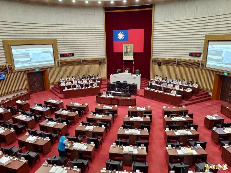 高市議長改選可能在七月十三日進行。(記者王榮祥攝)