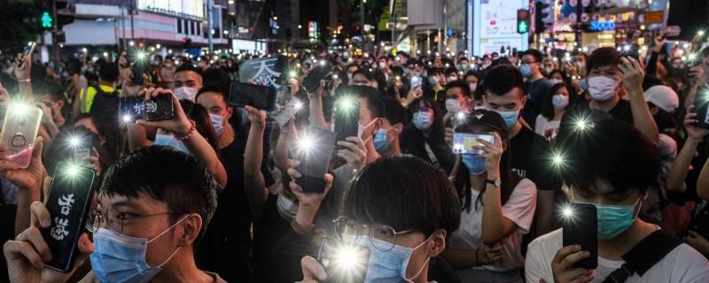 《港區國安法草案》今在中國全國人大常委會中通過,無國界記者組織(RSF)秘書長德洛瓦(Christophe Deloire)呼籲全球民主國家一同採取行動,阻止北京在香港強制實行國安法。(法新社資料照)