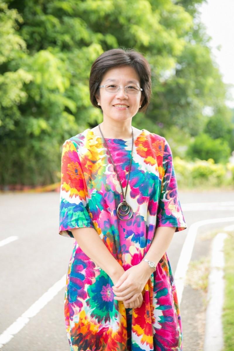 新竹市內湖國中校長張慧媛將轉任華德福實驗學校校長。(記者洪美秀翻攝)