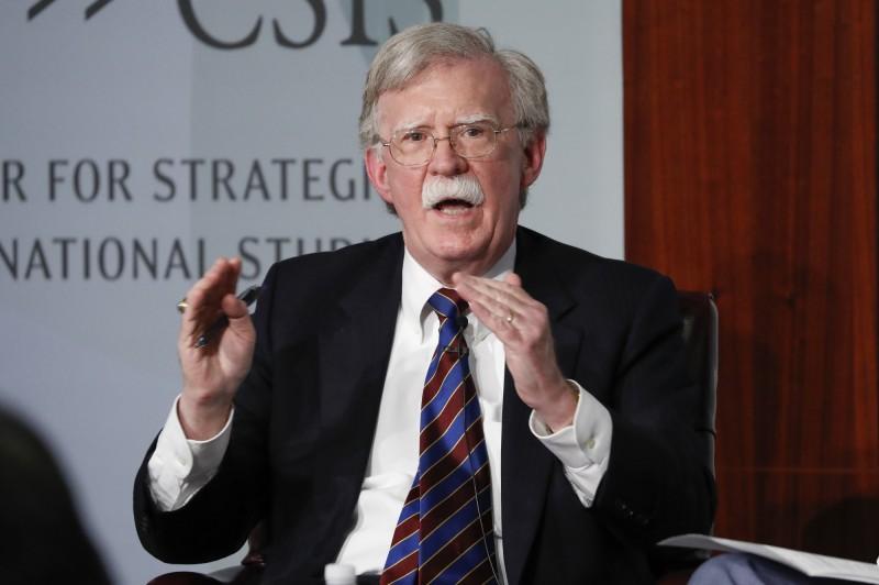 波頓認為,川普反覆無常,且願意犧牲美國國安來爭取連任。(美聯社)