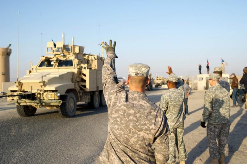 駐科威特美軍爆出武漢肺炎群聚感染。(法新社)