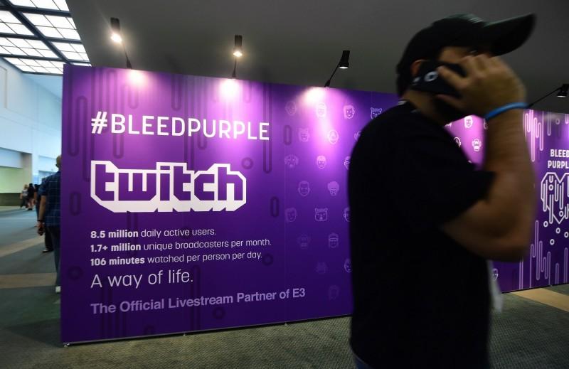 Twitch暫時封鎖川普直播頻道。(法新社)