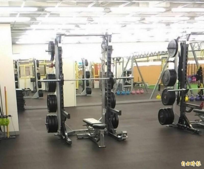 健身房示意圖。(資料照)