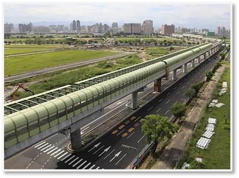 台中捷運綠線延伸彰化路段示意圖。(彰化縣政府提供)