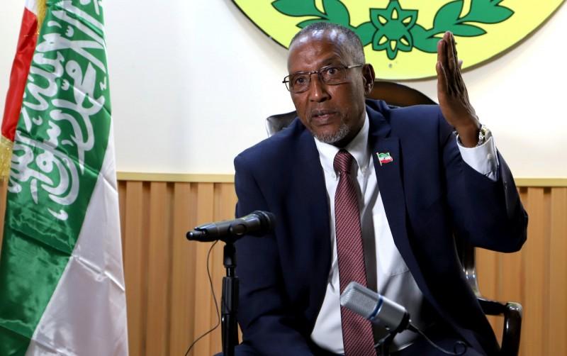 索馬利蘭(Republic of Somaliland)總統比希(Muse Bihi Abdi)。(路透資料照)