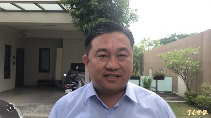 民進黨立委王定宇(見圖)指控,立院議場不只出現釘子,他的手指頭也遭鐵錘攻擊,質疑國民黨立委是惡意攻擊。(資料照)
