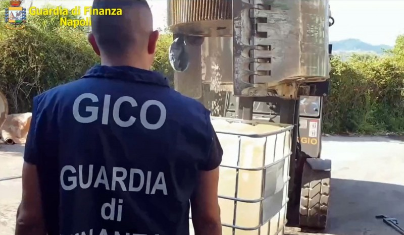 義大利警方今天查扣伊斯蘭國在敘利亞生產的14公噸安非他命。(歐新社)