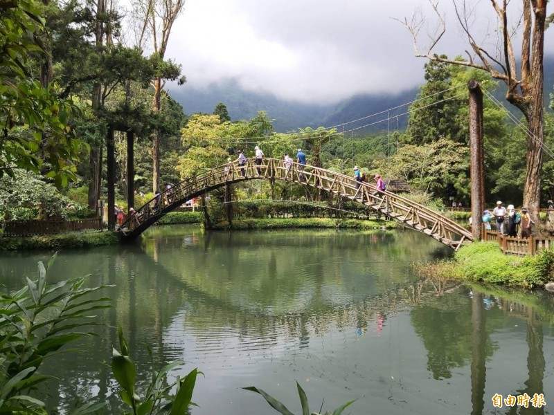 中台灣好玩卡,花999元可暢遊3縣市6景點,圖為溪頭自然教育園區。(記者張協昇攝)