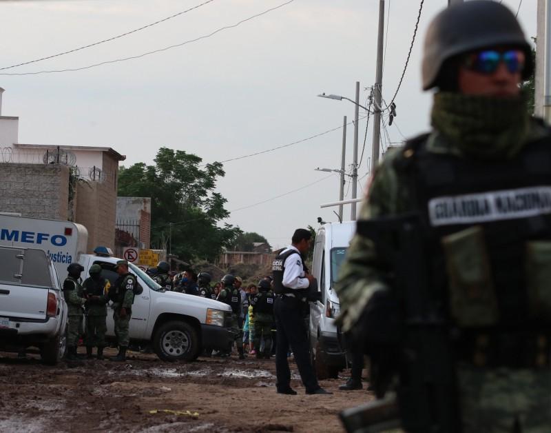 墨西哥一所戒毒中心遭不明組織的槍手血洗,造成至少24死、7人受傷。(歐新社)