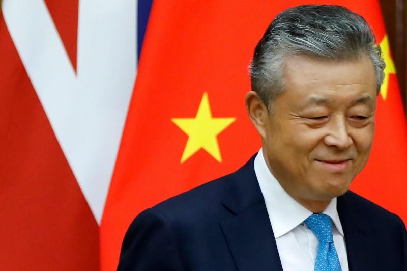 中國駐英國大使劉曉明。(法新社)