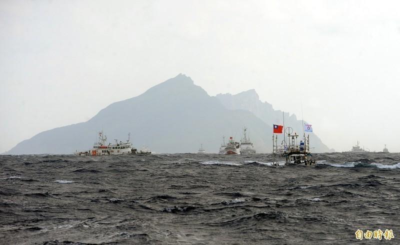 日本沖繩縣石垣市將釣魚台更名案近日引起關注,外交部日前表示,漁權是主權的重要元素,行政院已下令加強護漁,自2016年以來,無任何漁船遭日方公務船「扣押」,顯示我方護漁行動發揮高度成效。(資料照)