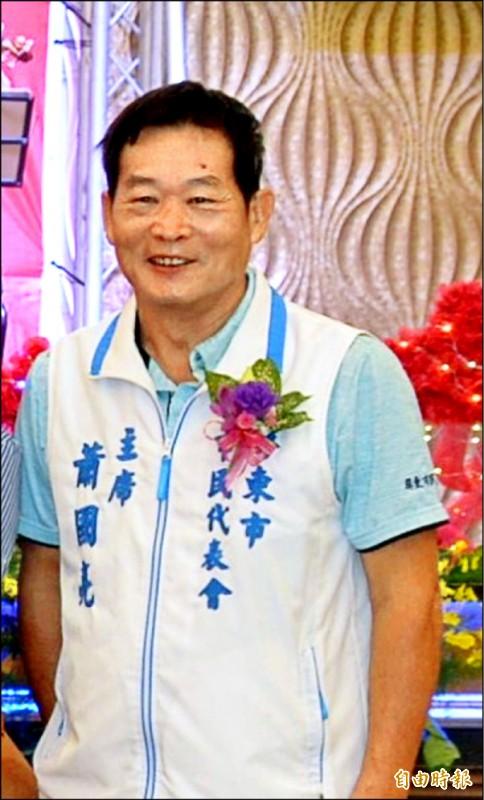 屏東市代會主席蕭國亮涉貪收押。(資料照,記者李立法攝)