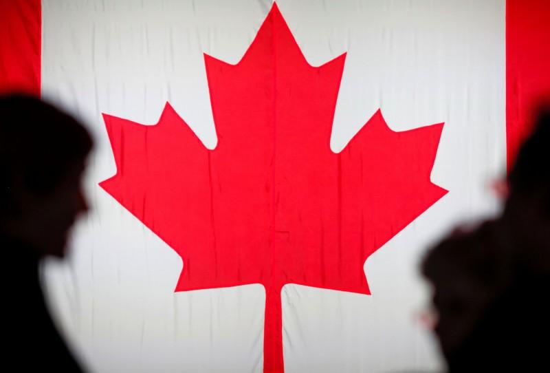 加拿大外交部3日宣布,即日起暫停加國與香港的引渡條約,並停止批准向香港出口敏感軍事用品。圖為加拿大國旗。(路透資料照)