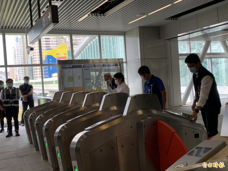 台中捷運通車在即,未來運量如何「坐好坐滿」?議員要求市府提早規劃。(資料照,記者唐在馨攝)