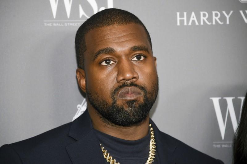 美國饒舌巨星肯伊威斯特(Kanye West)4日突然在推特宣布,將角逐2020年的美國總統大選。(美聯社)