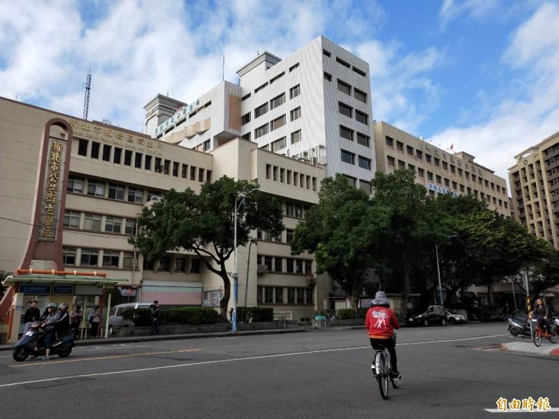 新北市衛生局一名L姓女員工墜樓身亡,引發案外案。(記者賴筱桐攝)