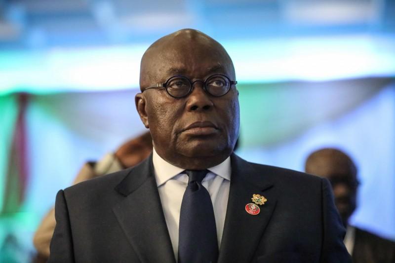 迦納總統阿庫佛—阿杜(Nana Akufo-Addo)的親近人士確診武漢肺炎(新型冠狀病毒病,COVID-19),阿杜本人將在醫師的建議下展開14天的自主隔離。(法新社)