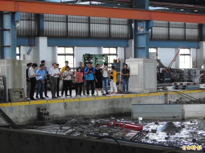 蘭嶼開元港擴港水工試驗成功 東縣力拼數億元建設經費到位