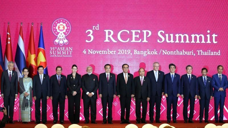 印度原為RCEP協定成員國,但在2019年11月4日退出,此後就不曾加入該協定。(歐新社檔案照)