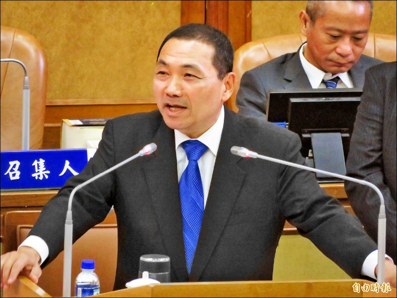 新北市在台北捷運公司的董事席次只有1席,新北市長侯友宜說,「分量不夠,講話沒人聽」。(記者何玉華攝)