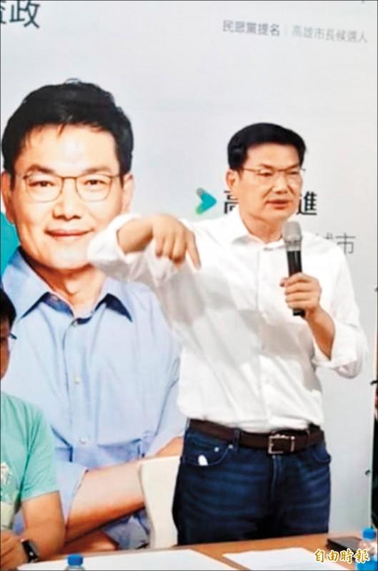 吳益政(記者蔡清華攝)