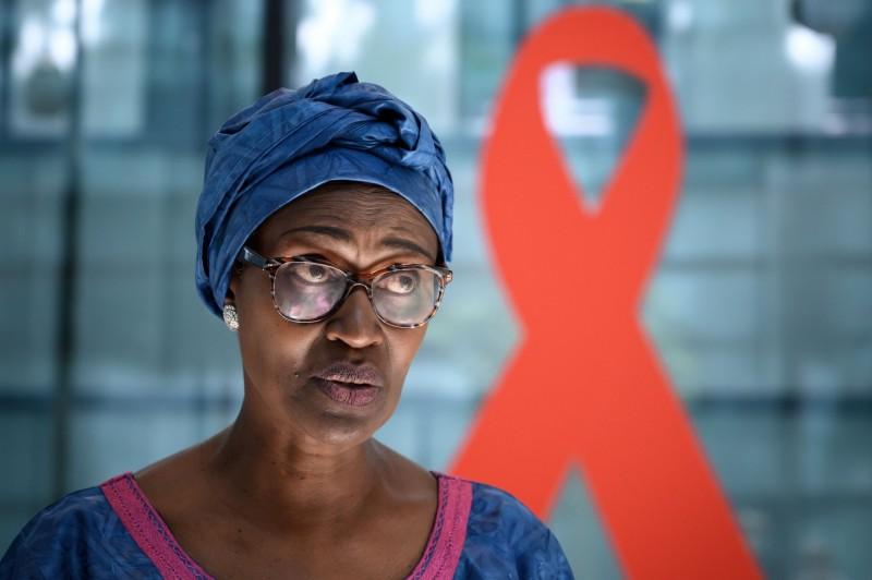 聯合國愛滋病規劃署執行主任拜安伊瑪(見圖)指出,遭受過性暴力的婦女感染愛滋的可能性,是其他婦女的1.5倍。(法新社)