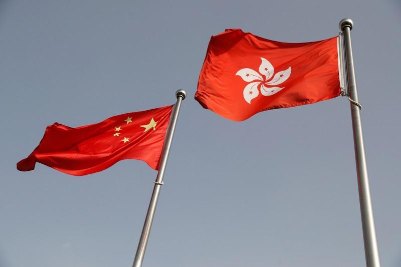 中共外交部駐港公署發表聲明指出,中國按立法程序、「科學民主透明」,認為美國對這些事實視而不見。(路透)