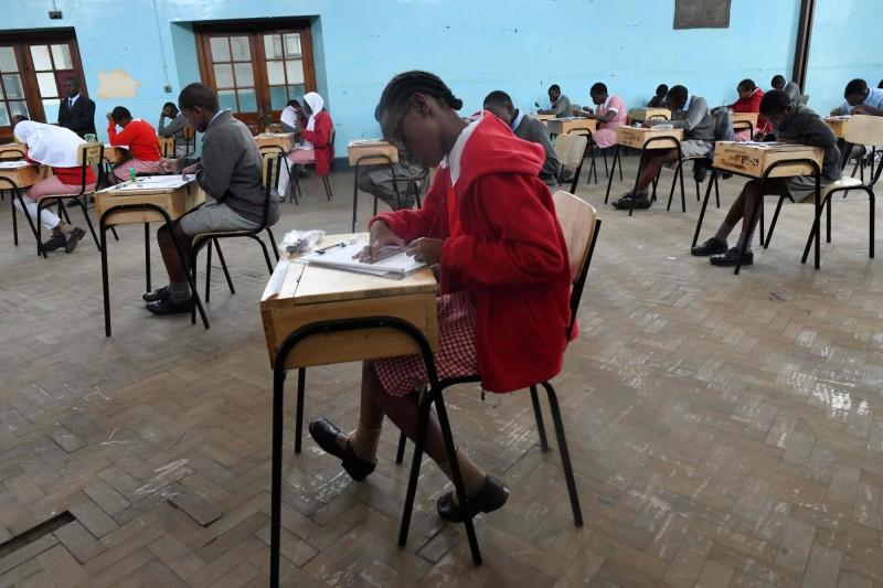 肯亞政府今(7)日宣布,該國的2020學年被認為已經「遺失」,中小學生將於明年1月重返課堂。(法新社)