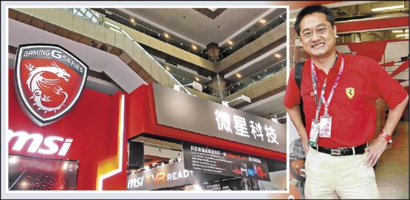 科技大廠微星公司總經理兼執行長江勝昌,昨在公司大樓墜樓不 治。 (資料照、取自江勝昌臉書)