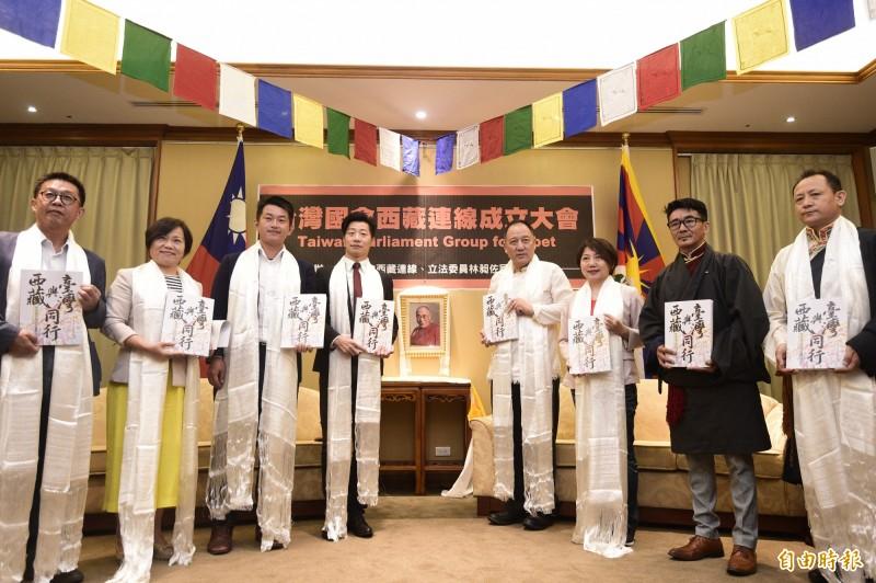 「台灣國會西藏連線成立大會」今在立法院舉行。(記者叢昌瑾攝)