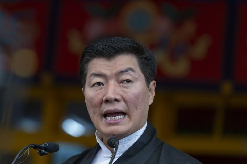 西藏流亡政府領袖洛桑森格表示,香港將成為下一個西藏。(美聯社)