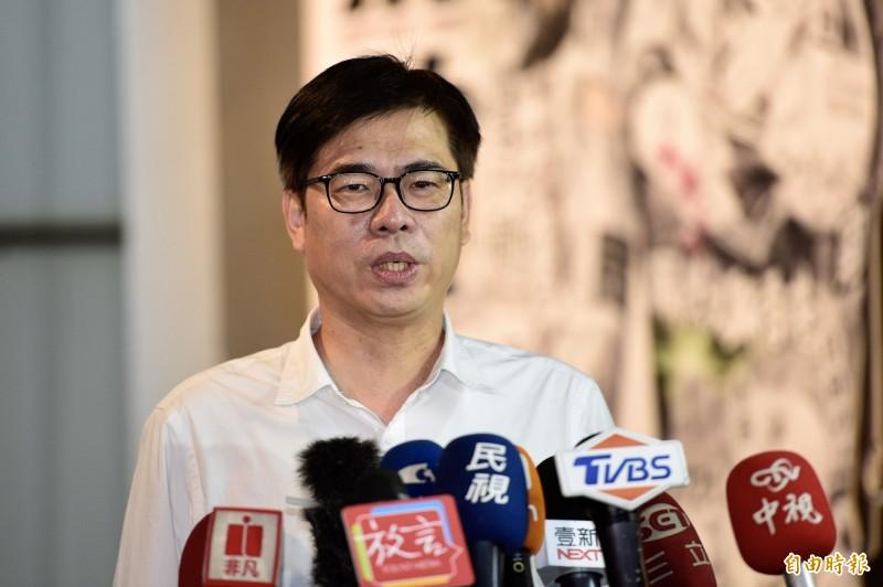 民進黨高雄市長補選參選人陳其邁。(資料照)