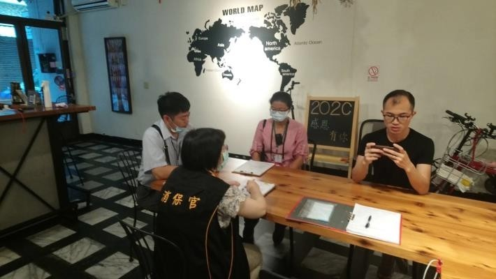 市長黃偉哲下令法制處、觀光旅遊局,針對台南旅宿業暑期房價專案稽查。(記者洪瑞琴翻攝)