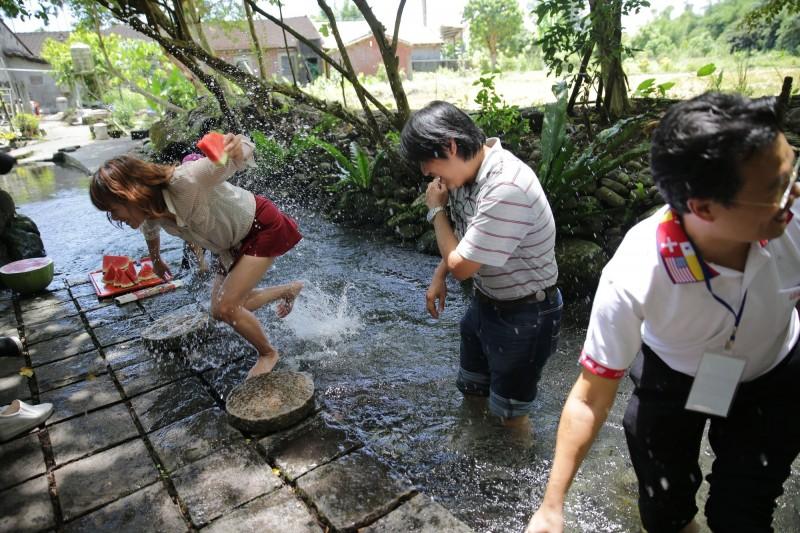 水土保持局推出「優遊農村 夏日遊購送」活動,規劃6大金牌農村體驗行程。(水保局提供)