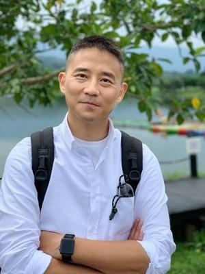 朱康震今晚發布聲明,說明自己為不影響市府請辭。(圖:擷取自市府網站)