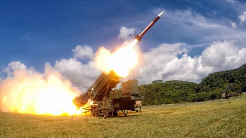 梅復興表示,台軍手上的愛國者二型飛彈系統(見圖)服役已有10年。(國防部提供)